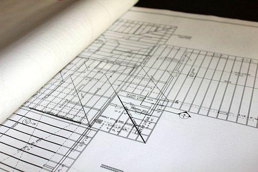 Blueprints, House Plans, Architecture, Construction