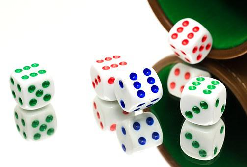 Yahtzee, Dice, Luck, Game, Throwing, Fun, Roll, Chance