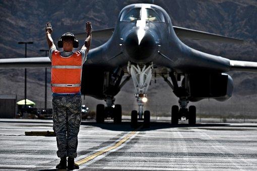 Us Air Force, B-1b Lancer, Aircraft, Jet, Military