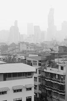City, Moloch, Smog, Big City, Pollution, Homes, Live