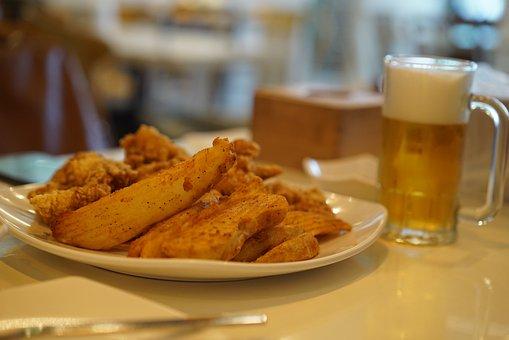 Chicken, Beer, Dining Room, Restaurant, Hof, Pub
