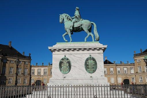 Amalienborg, Copenhagen, Denmark, Royal Family, Royal