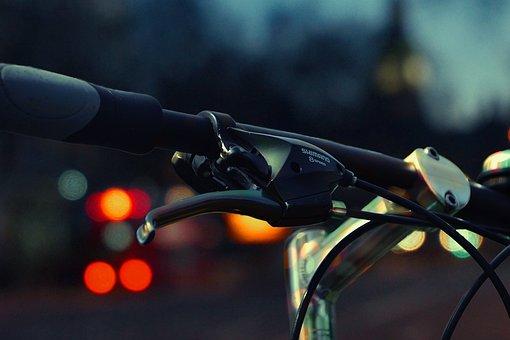 Shimano, Bokeh, City, Lamp, Lantern, Traffic Light