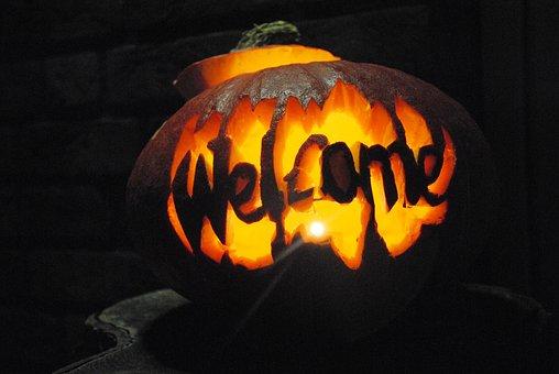 Pumpkin, Halloween, Spirit, Poltergeist