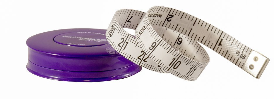 Measure, Tape Measure, Health, Fitness, Size, Magnitude