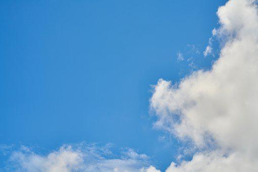Air, Sky, Cloud, Background, Clouds, High