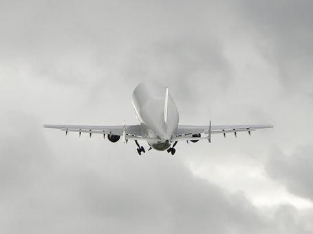 Airbus, Beluga, Aircraft, Start, Finkenwerder