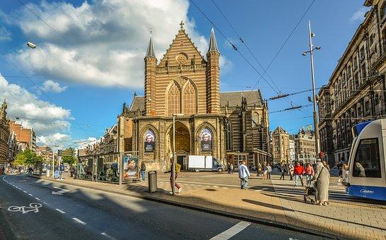 Marilyn Monroe, Church, Amsterdam, Holland, Dutch