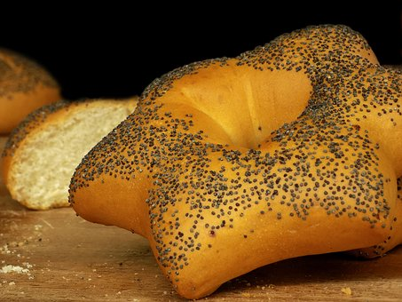 Milk Bread, Bread, Poppy Seeds, Bakery, Home