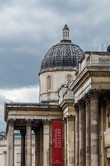 National Gallery, London, England, Britain