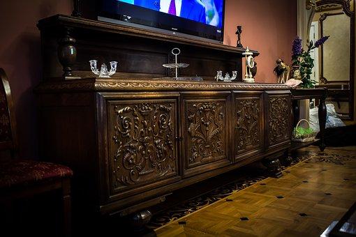 Furniture, Retro, Europe, Interior, Style, Design, Era