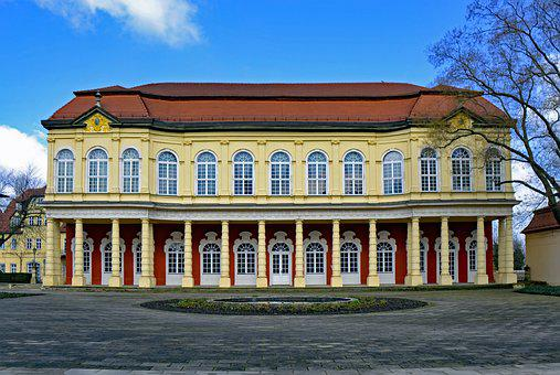 Merseburg, Saxony-anhalt, Germany, Castle Garden