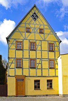 Merseburg, Saxony-anhalt, Germany, Old Town
