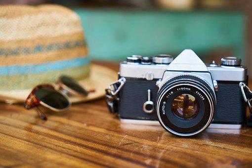 Old, Camera, Lens, Hat, Holiday, Eyewear, Entertainment