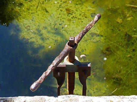 Raft, Orchard, Iron, Mechanism, Water, Irrigation
