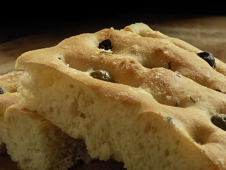 Focaccia, Olives, Bread, Artisan Bread, Home, Food