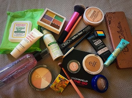Makeup, Cosmetics, Glamour, Lipstick, Make-up, Powder