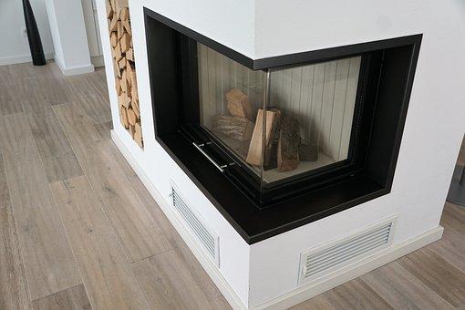 Fireplace, Wood, Burn