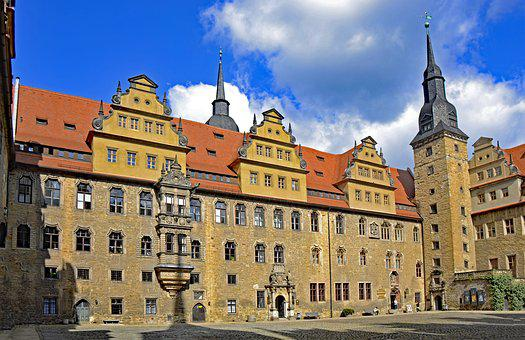 Merseburg, Saxony-anhalt, Germany, Castle, Old Town