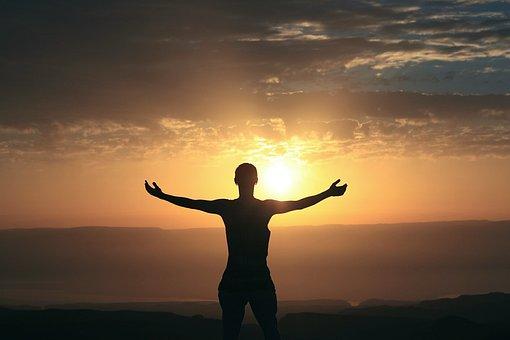 Morning, Bless, Sunrise, Religion, Travel, Sunlight