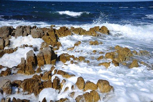 Sea, Foam, Surf