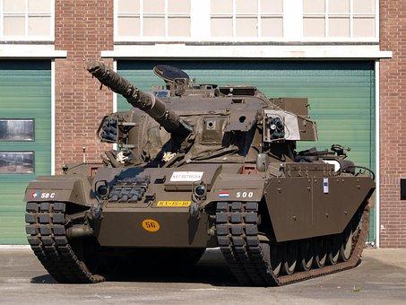 Tank, Centurion, Warfare