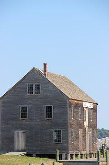 New England, House, Architecture, Home, Usa, American