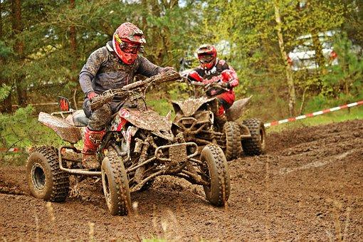 Enduro, Quad, Dirtbike, Atv, All-terrain Vehicle