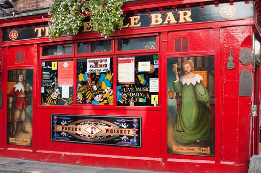 Dublin, Temple District, Bar