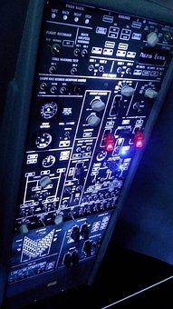 Control Panel, Flight Instruments, Cockpit