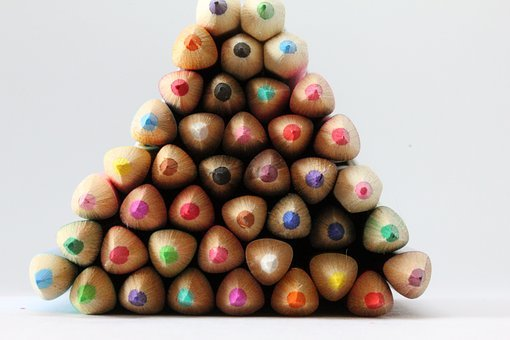 Pencils, Coloured, Draw, Sketch, Art, Color, Rainbow
