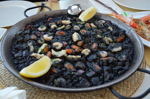 Paella, Spain, Dish, Mallorca, Mediterranean, Food