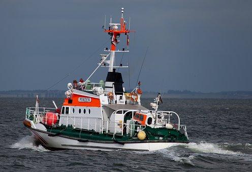 Sea Rescue Cruiser, Shipping, Rescue, Help, Ship, Boot