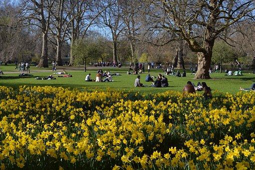 St James's Park, London, Westminster, Park, Uk, Travel