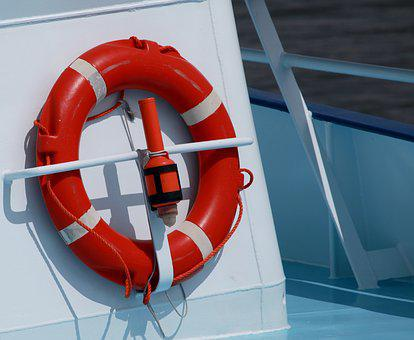 Lifebelt, Ship, Maritime, Rescue, Boot, Seafaring