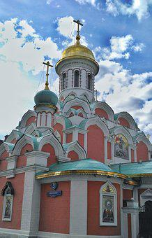 Russia, Moscow, Temple, The Orthodox Church, Church