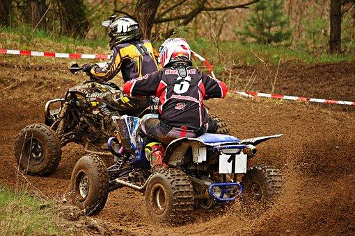 Quad, Motocross, Enduro, Cross, Motocross Ride