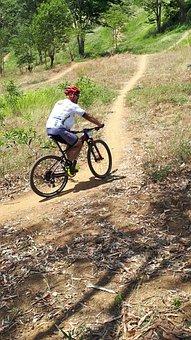 Guy, Bike, Racer, Mountain Bike, Biking, Bicycle, Man