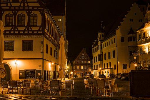 Night Photograph, Long Exposure, Lights, Night