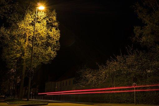 Long Exposure, Night, At Night, Night Photography, Road