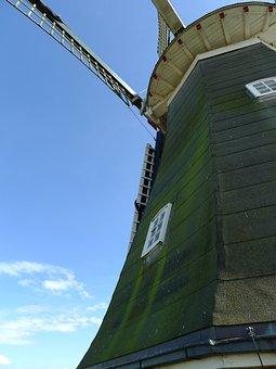 Rysumer Mühle, Windmill, Rysum, Northern Germany