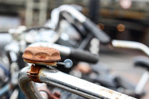 Bike, Rohklingel, Bell, Old, Metal, Antique, Nostalgia