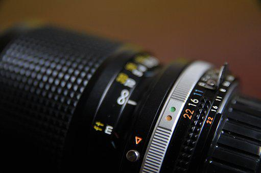 Camera, Lens, Photography, Aperture, Numbers, Infinity