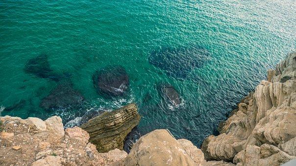 Spain, Beach, Sea, Ocean, Mountains, Coast, Nature