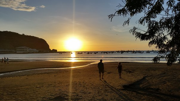Sanjuandelsur, Beach, Nicaragua, Sea, Holiday
