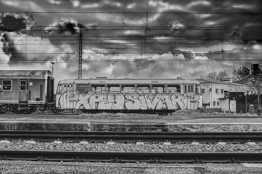 Dramatic, Train Car, Wagon, Zugabteil, Nostalgic, Train