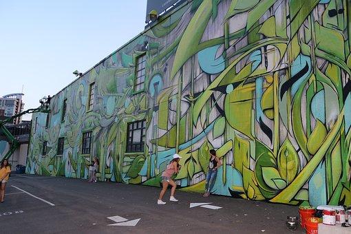 Graffiti, Mural, Wall Art, Graffiti Artist, Ian Ross
