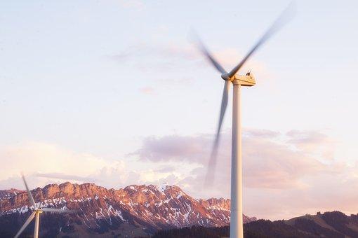 Windräder, Wind Energy, Wind Power, Wind Park, Pinwheel