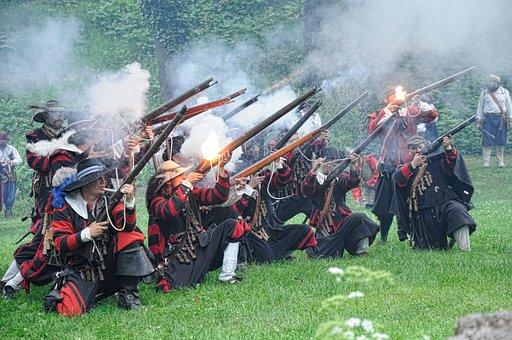 Battle, Historical Battle, War, Battle Re-enactment