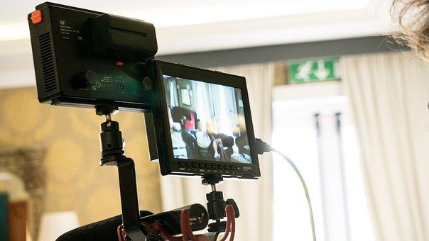 Camcorder, Camera, Display, Video, Light, Reflex Camera